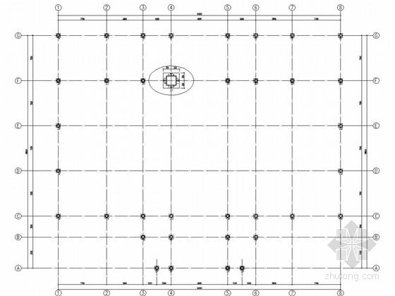 两层钢框架结构售楼处结构施工图