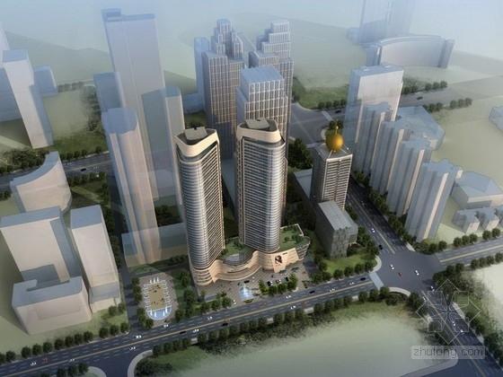 [山東]44層商業綜合體建筑設計方案文本
