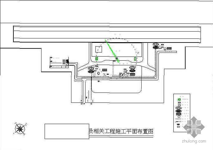 浙江某铁路客运站站台及站房施工组织设计(钱江杯)