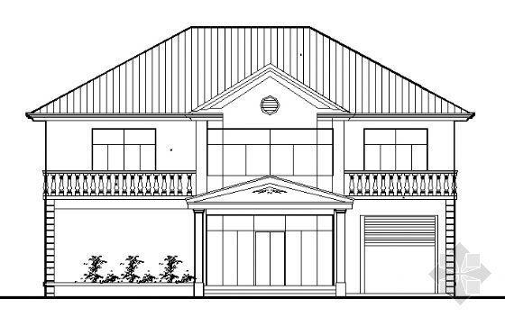 C型别墅设计图纸