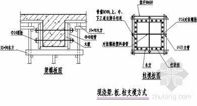 山东某脱硫技改工程脚手架方案