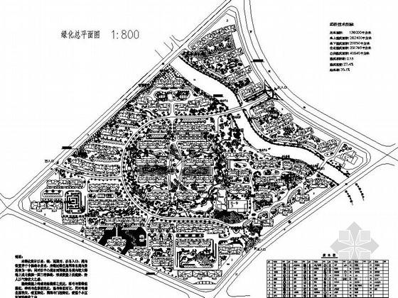 [宁波]居住区园林景观工程施工图