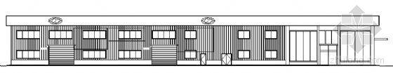 现代汽车某展示中心建筑方案图
