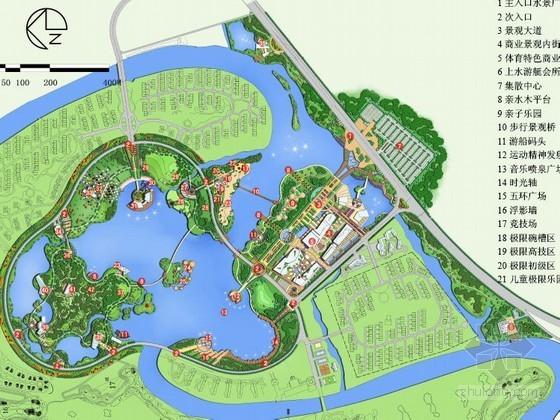 特色主题公园景观文本资料下载-[盐城]主题公园景观规划方案