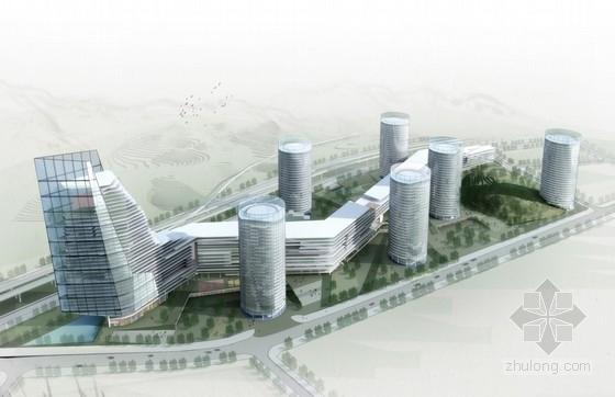 [深圳]大型现代风格产业园建筑设计方案文本