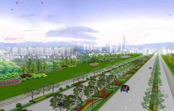 开发区园林环境设计方案