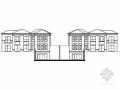 [江苏]某小区二层三联排新古典风格别墅建筑施工图