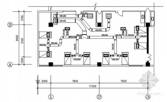 [常州]某医院洁净手术部净化空调图纸