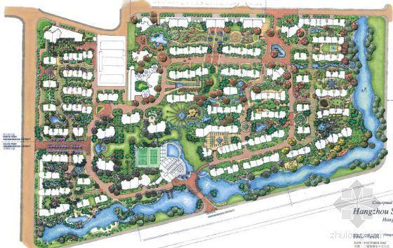 [杭州]小区景观设计方案套图