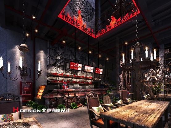 归本主义设计作品—上海火狐咖啡设计案例_4