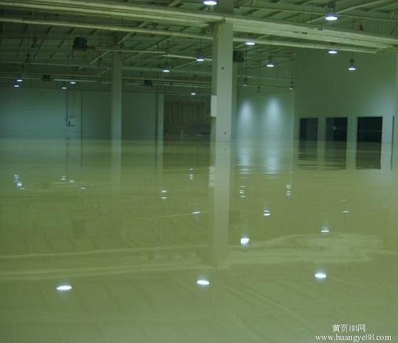 地坪漆施工需要中涂层的原因