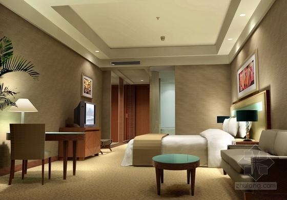 [宜昌]01经济开发区核心地带五星级商务酒店方案设计 单人客房
