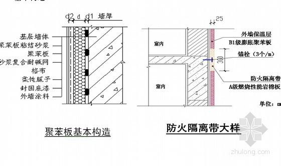 [重庆]住宅楼工程外墙聚苯板保温工程施工方案(多图)