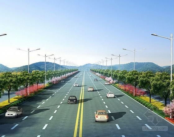 [广东]双向六车道道路工程预算书(全套 650页)