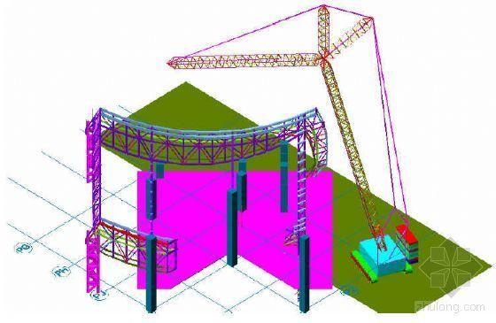 澳门某钢结构工程安装施工方案