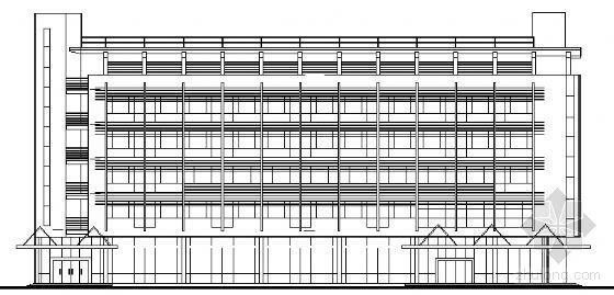 某六层旅馆建筑方案图