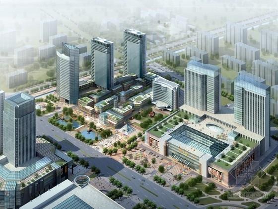 [江苏]现代风格混合商业区规划及单体设计方案文本