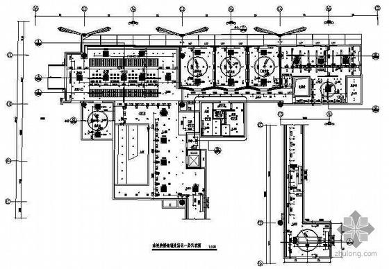 白云机场东南贵宾室全套施工图