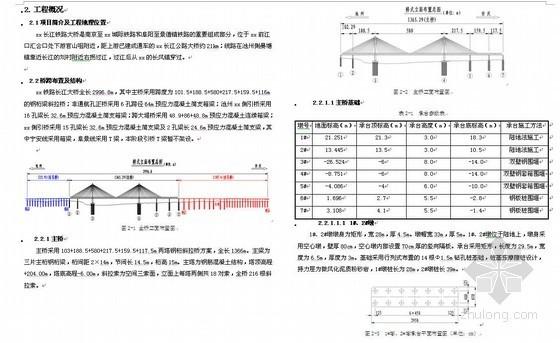 南安城际铁路跨长江大桥施工组织设计(钢桁梁斜拉桥)