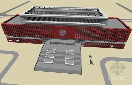 [天津]框架剪力墙结构图书馆工程施工组织设计(210页 技术标)