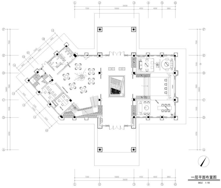 [四川]成都中州锦城湖岸售楼处全套施工图及效果图