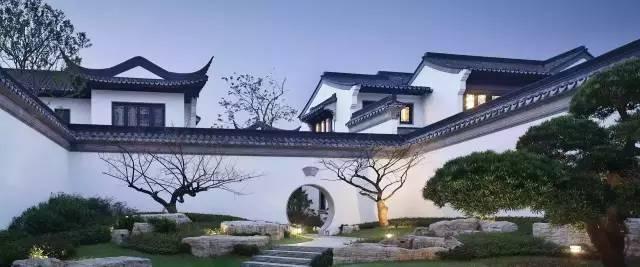 溯源——豪宅标配|中式庭院