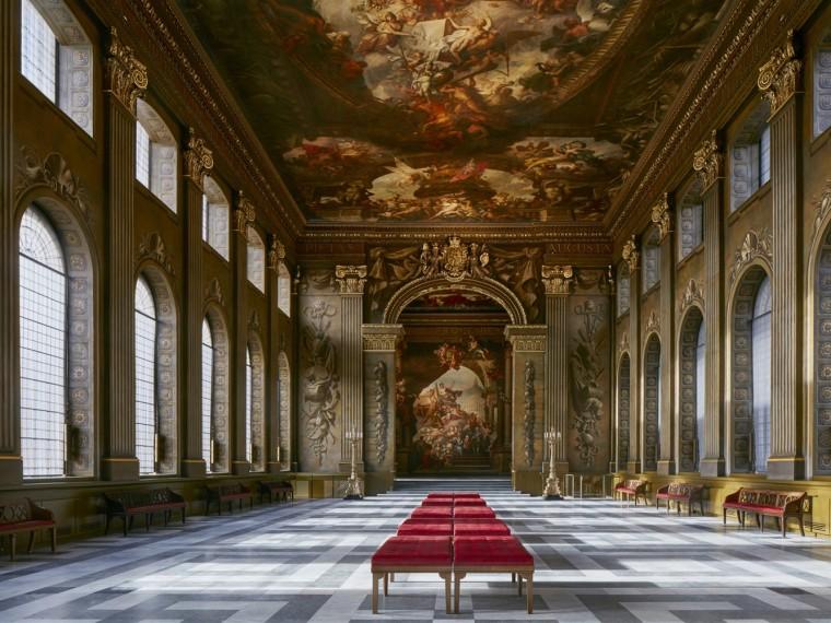 英国旧皇家海军学院彩绘厅