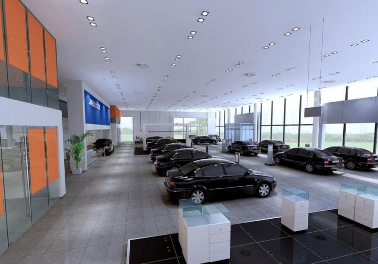 (原创)汽车4S店室内设计案例效果图-汽车4S店 (6)