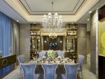 欧式精致餐厅3D模型下载