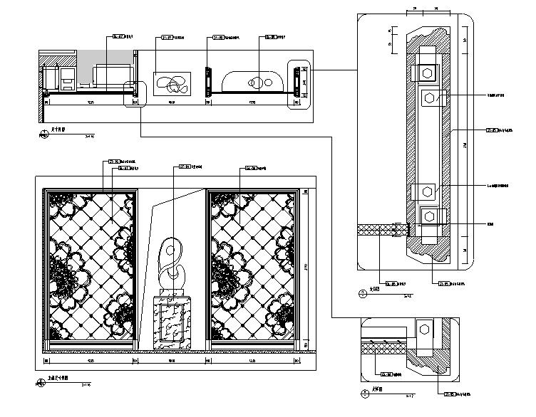 [山东]泰安国山墅样板间设计施工图(附效果图)