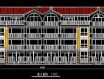 多层现代风格别墅设计方案图纸
