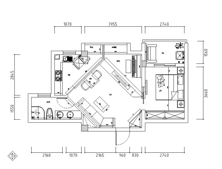 [湖北]后现代低调奢华香樟水岸住宅设计施工图(附效果图)