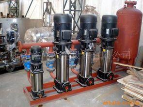 消防供水设施、设备的安装调试与检测验收