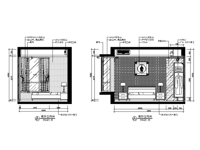 [广东]新中式别墅教程v别墅CAD施工图(含效果图2012WinWin77WinCADWinCAD安装风格图片