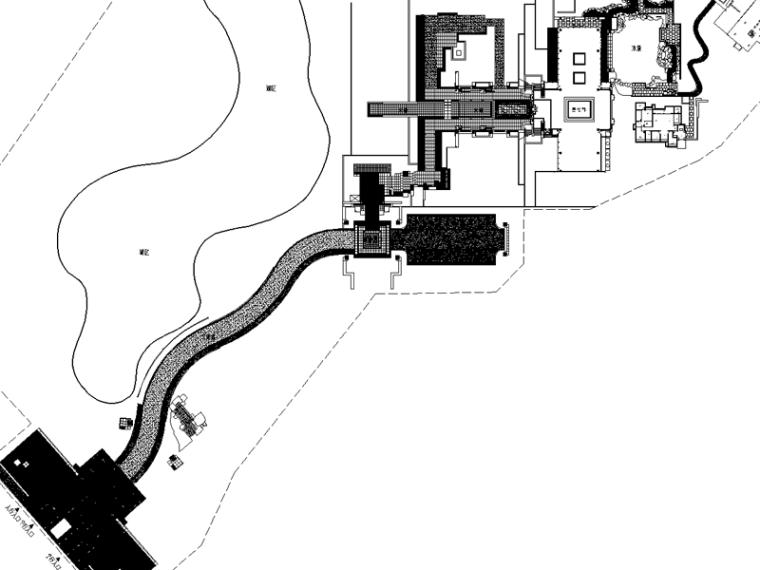 龙湖九里晴川居住区全套施工图方案(含水电施工图,新中式风格)