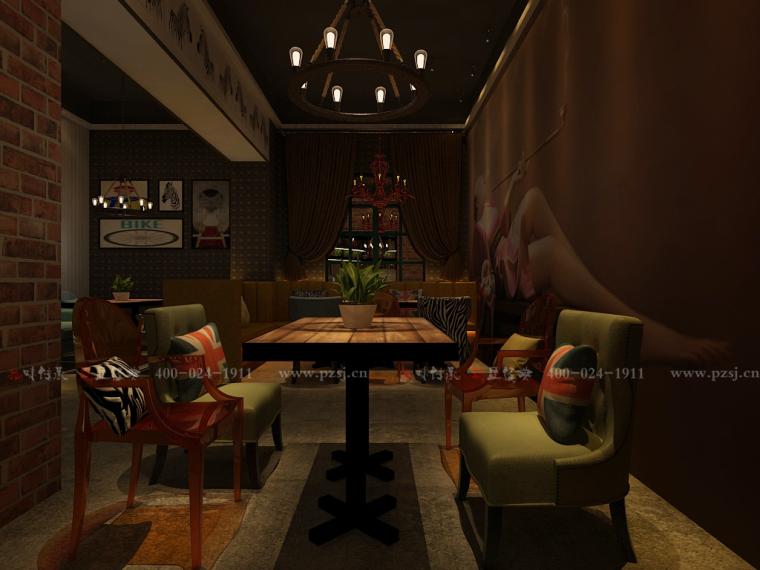 沈阳市中山路热情的斑马艺术休闲吧设计项目效果图震撼来袭-6.jpg