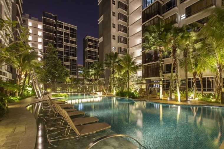 新加坡自然的公寓景观-13