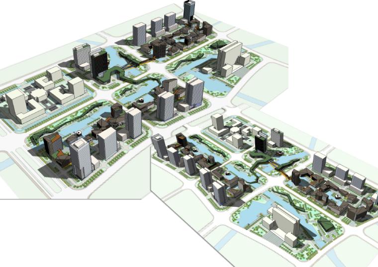 [上海]嘉定新城长三角商务休闲区详细规划与城市设计方案文本