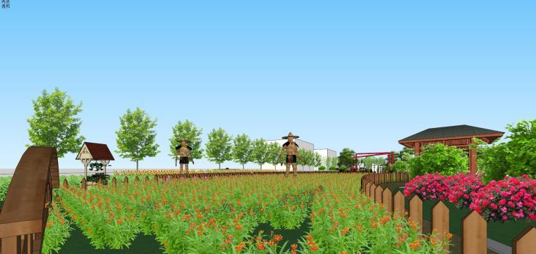 城市生态农业园民宿景观设计 10
