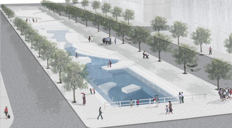 韩国ChonGae运河修复工程_12