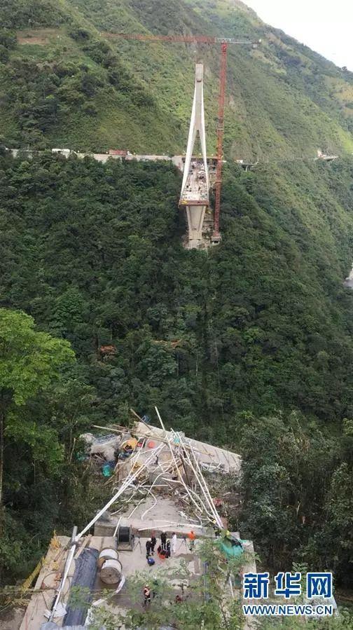 监控直播!在建大桥轰然倒塌,已有13人遇难,10多人下落不明_15
