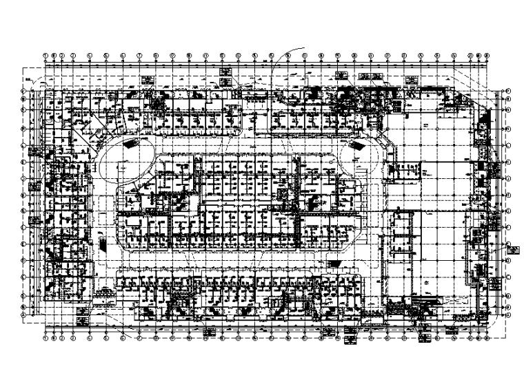 河南万达全套暖通设计施工图
