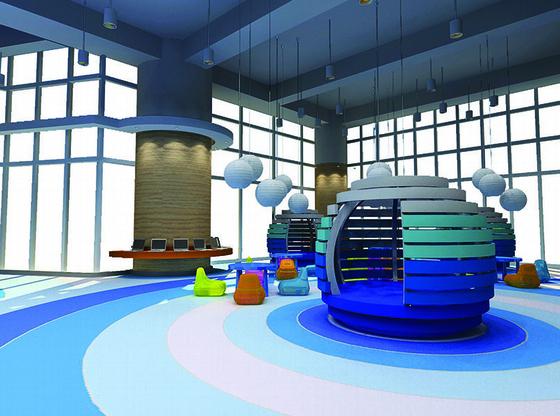 [上海]酒店儿童冒险区室内装修施工图(含高清效果图)