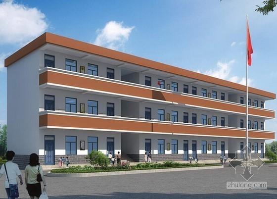 [安徽]新建小学教学综合楼建筑安装工程量清单计价实例(含施工图纸)