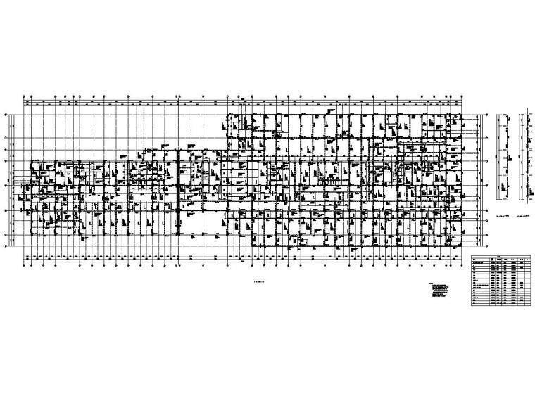 [浙江]地上11层框架剪力墙结构医院防治大楼结构施工图