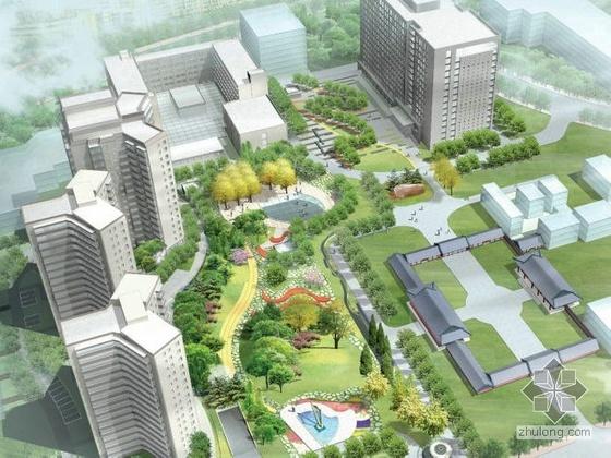 北京校园整体绿化规划设计