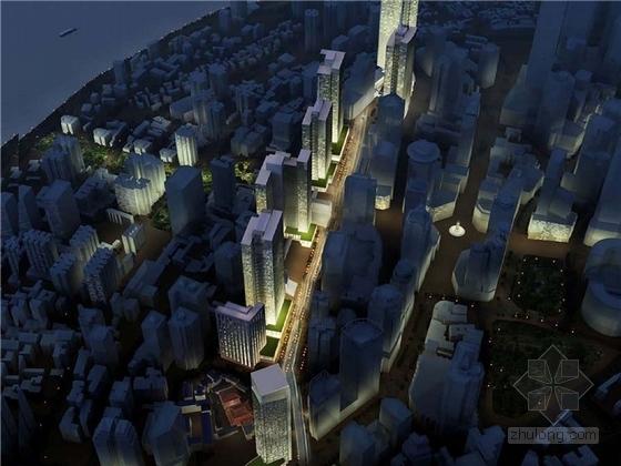 [重庆]现代风格高层商业街设计方案文本
