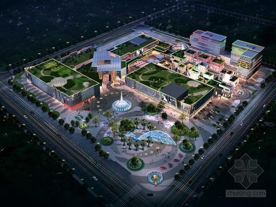 [四川]4层现代风格大型购物中心规划设计方案文本(知名建筑研究院)