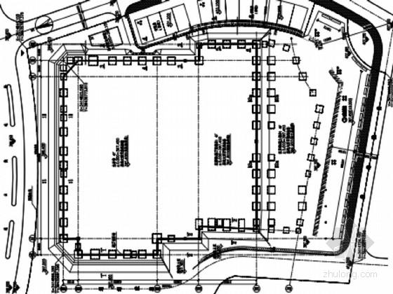 [安徽]某广场基坑排桩+土钉边坡支护设计图纸(原创)