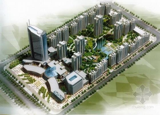 [甘肃]现代风格高层城市综合体建筑设计方案文本(含三套设计方案)